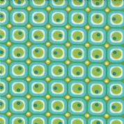 Moda - ABC Menagerie - 3091 - Teal/Green Geometric - 39523-20 - Cotton Fabric